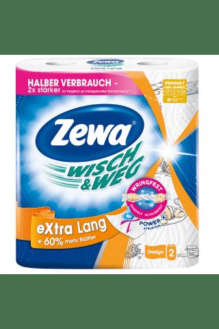 Popieriniai rankšluosčiai ZEWA W&W EXTRA LANG, 2 sluoksniai, 2ritinėliai