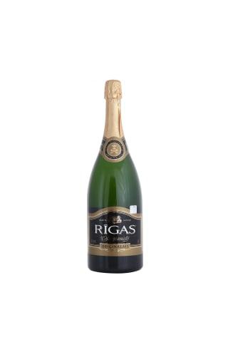 Dzirkstošais vīns Rīgas Šampanietis saldais 11,5% 1,5l