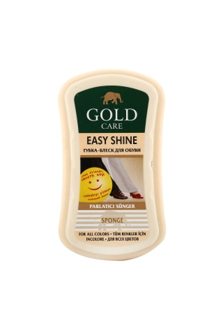 Kempinėlė (bespalvė) GOLD CARE EASY SHINE, 1 vnt