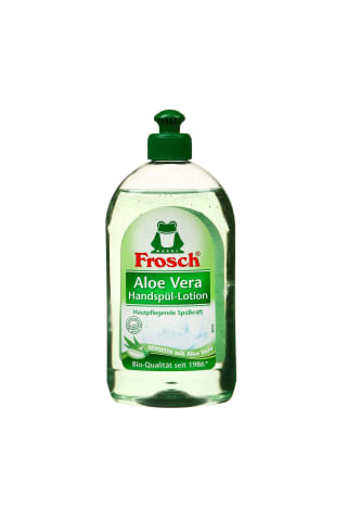 Mazgāšanas līdzeklis traukiem Frosch aloe vera