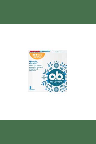 Higieniniai tamponai O.B. PRO COMFORT NORMAL, 8 vnt