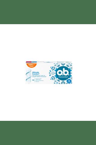 Higieniniai tamponai O.B. ProCOMFORT SUPER, 16 vnt