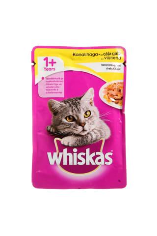 Kačių ėdalas su vištiena WHISKAS, 100 g