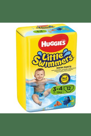 Plaukimo kelnaitės HUGGIES SWIMERS (3-4) 7-15 kg, 12 vnt.