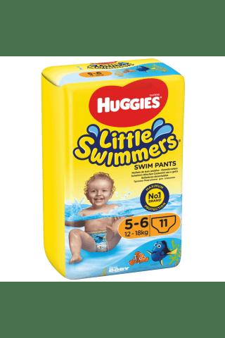 Plaukimo kelnaitės HUGGIES SWIMERS (5-6) 12-18 kg, 11 vnt.
