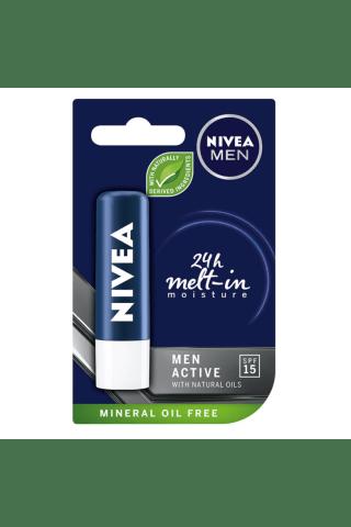 Lūpų balzamas NIVEA FOR MEN, 4,8 g