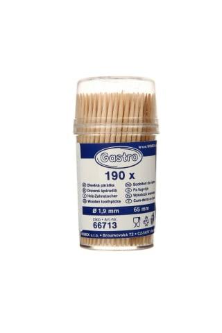 Mediniai dantų krapštukai GASTRO, 190 vnt