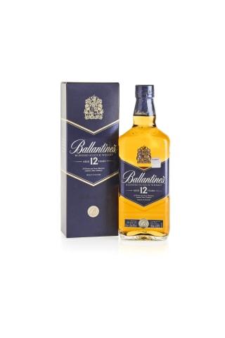 Viskijs Ballantines 12yo kastē 40% 0.7l