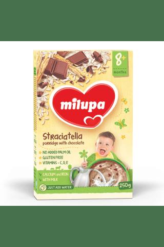 Pieniška košė su šokolado gabalėliais MILUPA, 250 g