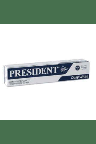 Zobu pasta President Clinical White 75ml