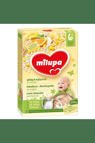 Pieniška grūdų košė su vaisiais MILUPA, 250 g