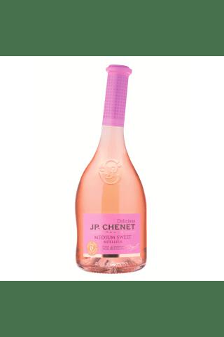 Rozā vīns J.P.Chenet Delicious Moelleux Blend Languedoc - Roussill pussaldais 12% 0,75l