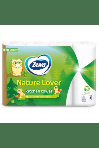 Papīra dvielis Zewa Nature Lover 50sloksnes, 2kārtas, 4ruļļi