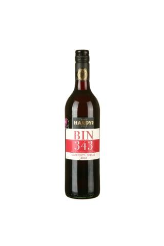 Sarkanvīns Hardys Bin 343 Cabernet Shiraz 14%0,75l