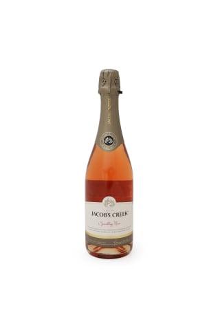 Dzirkstošais vīns Jacobs Creek Sp.Rose 11,5% 0,75l