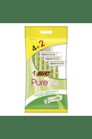 Skustuvas BIC PURE3 LADY P6 bag, 4+2 vnt