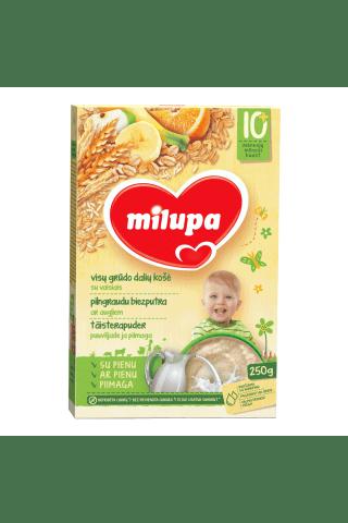 Pieniška visadalių grūdų košė su vaisiais MILUPA, 250 g