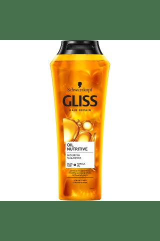 Šampūns Gliss Kur Oil Nutritive 250ml