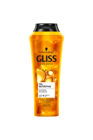 Šampūnas GLISS KUR OIL NUTRITIVE, 250 ml