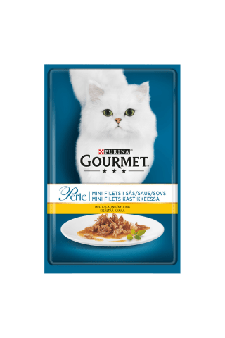 Konservi kaķiem Gourmet perle vistas 85g
