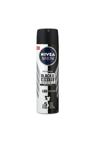 Purškiamas dezodorantas vyrams NIVEA BLACK&WHITE POWER, 150 ml