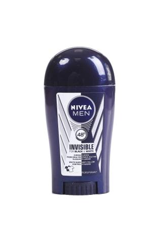 Dezodorants vīriešiem zīmuļveida Nivea deo black&white power 40ml