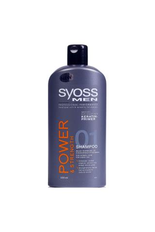 Šampūns Syoss men power 500ml