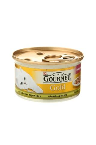 Kačių ėdalas su triušiena GOURMET GOLD, 85 g