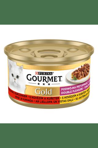Paštetas katėms su jautiena GOURMET GOLD, 85 g