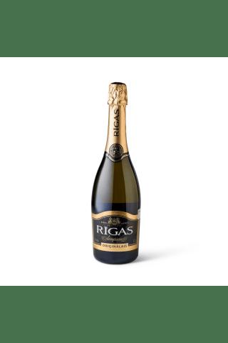 Dzirkstošais vīns Rīgas Šampanietis Oriģinālais saldais 11,5% 0,75l
