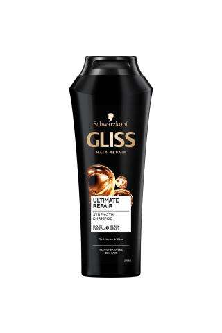 Šampūnas GLISS KUR ULTIMATE REPAIR, 0,25 l