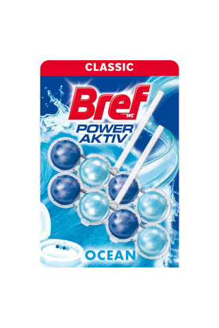 Tualeto valiklis BREF POWER AKTIV OCEAN, 2 vnt x 50 g