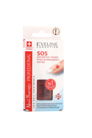 Nagu kopšanas līdzeklis Eveline SOS brittle&broken, 12ML