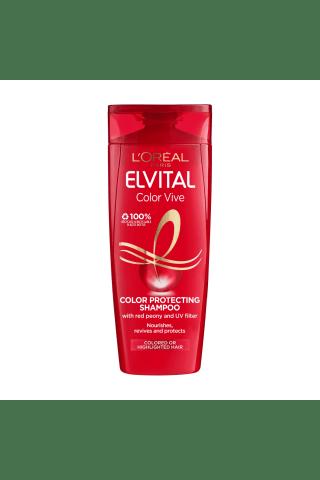 Šampūnas dažytiems bei sruoGelėmis dažytiems plaukams L'OREAL PARIS ELVITAL COLOR-Vive, 0,4 l