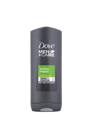 Vyriška dušo želė DOVE EXTRA FRESH, 400 ml