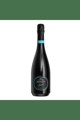Dzirkstošais vīns Zonin Prosseco Cuvee 1821 Glera Veneto pussausais 11% 0,75l