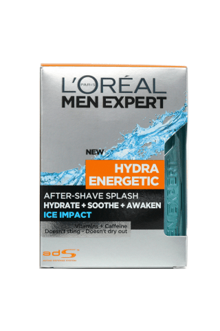 Losjonas po skutimosi L'OREAL MEN EXPERT SPLASH ICE IMPACT, 100 ml