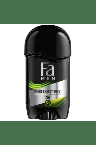 Vyriškas pieštukinis dezodorantas FA Men DOUBLE POWER, 50 ml
