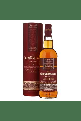 Viskijs Glendronach 12yo 43% 0.7l
