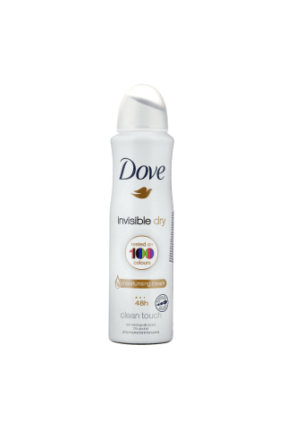 Izsmidzināms dezodorants Dove invisible dry 150ml
