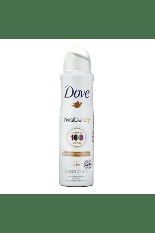 Purškiamas moteriškas dezodorantas DOVE INVISIBLE DRY 100 COLOURS, 150 ml