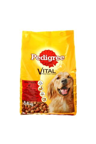Šunų ėdalas su jautiena ir vištiena PEDIGREE, 8,4 kg