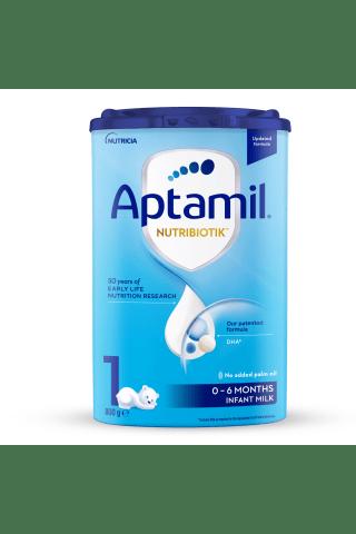 Pradinis pieno mišinys kūdikiams APTAMIL 1, nuo gimimo, 800 g