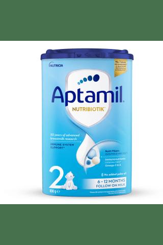Piena maisījums Aptamil 2 no 6 mēnešiem 800g