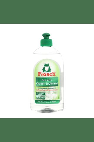 Mazgāšanas līdzeklis traukiem Frosch sensitive 0,5l