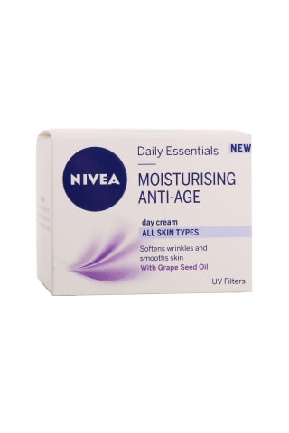 Dieninis veido kremas NIVEA Anti-wrinkle, 50 ml