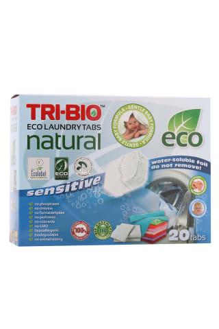 Tabletes veļas mazg.tri-bio 20 tab.