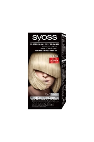 Matu krāsa Syoss color 10-5 los angeles blonde