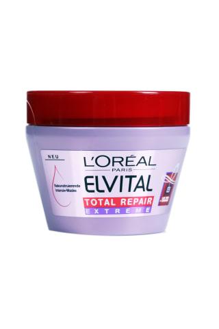 Plaukų kaukė ELVITAL TOTL REPAIR EXTREME, 300 ml