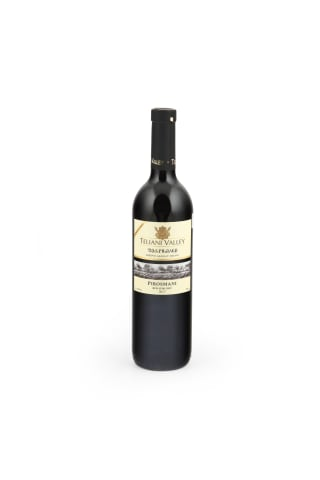 Sarkanvīns Teliani Valley  Pirosmani pussausais 12% 0,75l